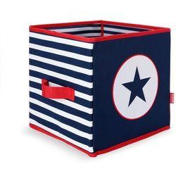 Składane pudło granatowe w gwiazdy Penny Scallan