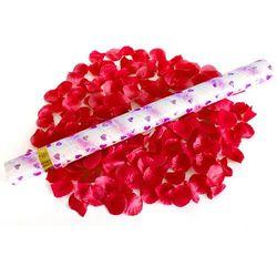 WYSTRZAŁOWE KONFETTI- czerwone płatki róż 60cm