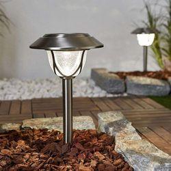 Doskonała lampa solarna led attila, 2 sztuki marki Duracell