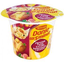 WINIARY 54g Danie w 5 Minut Puree o smaku bekonu z kategorii Dania gotowe