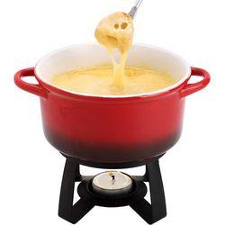 Zestaw porcelanowy do fondue do sera  marki Msc