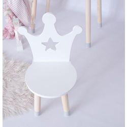 Krzesełko dziecięce korona z gwiazdką marki Beminidecor
