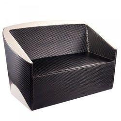 GABBIANO Sofa Do Poczekalni Paryż Czarno - Beżowa, kolor czarny