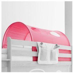 TICAA Tunel do łóżek piętrowych Dworek kolor różowy (4250393837325)