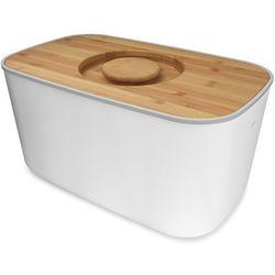 Chlebak z bambusową deską  biały marki Joseph joseph