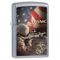 Zapalniczka ZIPPO US Marine Corps, Street Chrome (Z28899)