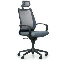 Krzesło biurowe Futura, ciemnoszare/czarne