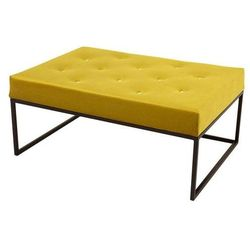 Decoartimo Pufa glamour duża kardik żółta
