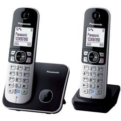 Telefon Panasonic KX-TG6812 z kategorii Telefony stacjonarne