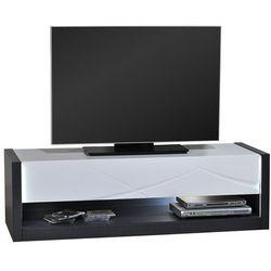 Sciae Stolik pod telewizor elypse, biało-szary, 150 cm - 14so3301