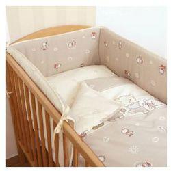 Ceba Baby Pościel 3-el kaczuszki brąz z kategorii Komplety pościeli dla dzieci