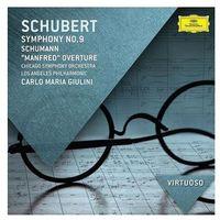 Schubert: Symphony No. 9 / Schuman: Manfred Overture (CD) - Carlo Maria Giulini