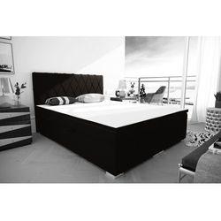 """Łóżko kontynentalne """"RIVIERA"""" 180x200 - ecru, kolor beżowy"""