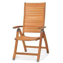 Krzesło składane z podłokietnikami catalina, marki Scancom