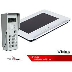 Zestaw wideodomofonu stacja bramowa z szyfratorem monitor 7'' s50d_m690ws2 marki Vidos