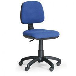 Biurowe krzesło milano bez podłokietników - niebieske marki B2b partner