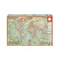 Puzzle Świat 1000 mapa polityczna - produkt dostępny w www.cud.pl