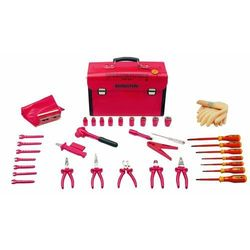 Bernstein Walizka narzędziowa  8100 vde, 35 narzędzi, (dxsxw) 440 x 175 x 310 mm