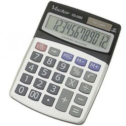 Kalkulator Vector CD-2462 - Super Ceny - Kody Rabatowe - Autoryzowana dystrybucja - Szybka dostawa - Hurt - Wyceny (5904329493800)