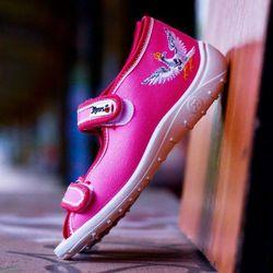 Sandały 'Slipers.pl SRBR', /rozm. 18-27, różowe/, towar z kategorii: Pozostałe dla dzieci