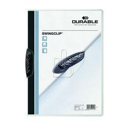 Skoroszyt zaciskowy Durable Swingclip 30 kartek czarny