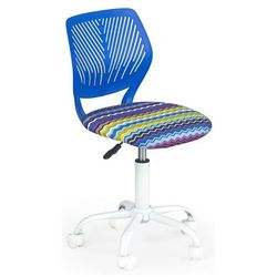 Fotel młodzieżowy Olaf - niebieski