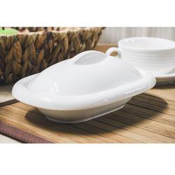 Giardino home maselnica porcelanowa 20 x 13.5 cm biała marki Giardino / home-akcesoria kuchenne