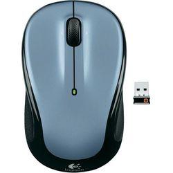 Mysz bezprzewodowa, Logitech 910-002334, Optyczny, 1000 dpi, Radiowa, szary (5099206027770)