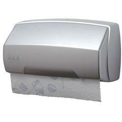 Pojemnik na ręczniki papierowe w rolce EKAplast srebrny