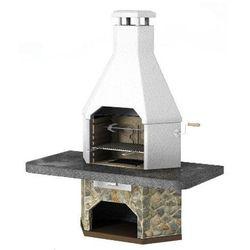 Grill betonowy z wędzarnią Corner wersja 2 - produkt z kategorii- grille