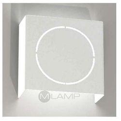 Shilo Kinkiet lampa ścienna kitami 4414/g9/bi  metalowa oprawa do łazienki prostokątna biały