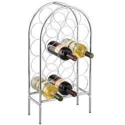 Zeller Metalowy regał na wino - 14 butelek,