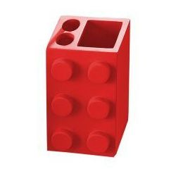 BOB Kubek na szczoteczki czerwony 22210206 - produkt z kategorii- Kubki i szklanki