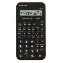 Kalkulator el-501xwh (el501xwh) czarna/biała marki Sharp