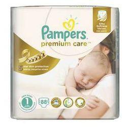 Pieluszki Pampers Premium Care Newborn rozmiar 1, 78 szt. z kategorii Pieluchy jednorazowe