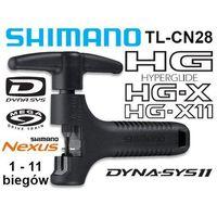 Y13098500 wyciskacz łańcucha  tl-cn28 hg/ig/ug/nx10 (1-11 rzedów) marki Shimano