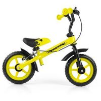 Rowerek biegowy Milly Mally Dragon z hamulcem yellow