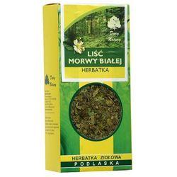 Morwa biała liść 50 g z kategorii Biała herbata