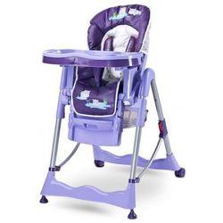Caretero Magnus krzesełko do karmienia FUN PURPLE NOWOŚĆ - produkt z kategorii- Krzesełka do karmienia