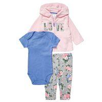 Carter's SET Body light pink z kategorii body niemowlęce