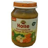 Holle (dla niemowląt) 6 mc mieszanka warzywna bezglutenowa bio 190 g - holle