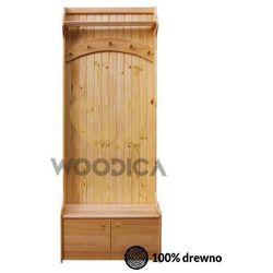 Garderoba 72x200 marki Woodica