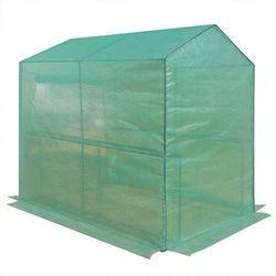 Tunel foliowy szklarnia na pomidory z 2 półkami - 186x120x190cm marki Wideshop