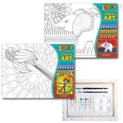 Podobrazie do malowania STARPACK 263628 z akcesoriami Safari z kategorii artykuły szkolne i plastyczne