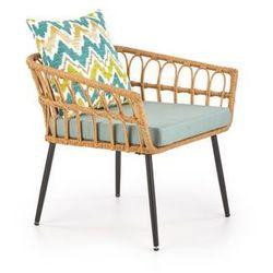 Fotel Gardena 1S kolor naturalny
