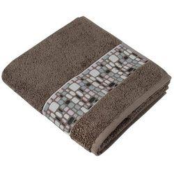 ręcznik kąpielowy kamienie brązowy, 70 x 140 cm od producenta Bellatex