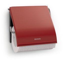 - uchwyt na papier toaletowy - czerwony passion, marki Brabantia