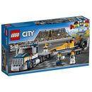Lego CITY Dragster transporter 60151
