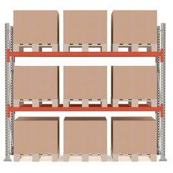 Array Regał paletowy ultimate moduł 2500x2750x1100 mm 9 palet