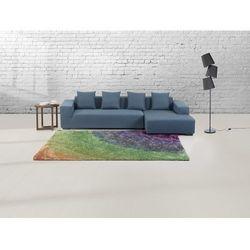 Dywan w kolorach tęczy - 160x230 cm - Shaggy - poliester - BURSA